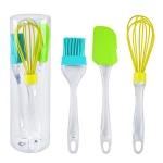 купить Кухонный набор (венчик, лопатка, кисточка) цена, отзывы