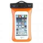 купить Водонепроницаемый чехол для телефона Оранжевый  цена, отзывы