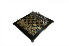 купить Шахматы Manopoulos Геркулес и Полубоги Олимпа Green 36х36 см цена, отзывы