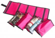 купить Косметичка трансфор со съемными элементами (розовый) цена, отзывы