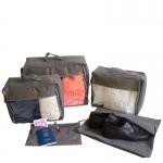 купить Набор дорожных сумок 5 шт (серый) цена, отзывы