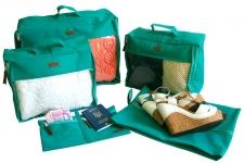 купить Набор дорожных сумок 5 шт (лазурь) цена, отзывы