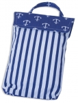купить Кармашек для памперсов в детскую сумку Якоря цена, отзывы