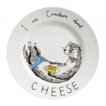 купить Тарелка Люблю сырные крекеры цена, отзывы