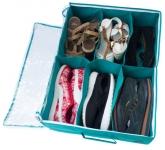 купить Органайзер для обуви на 6 пар (лазурный) цена, отзывы