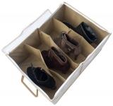 купить Органайзер для обуви на 4 пар (бежевый) цена, отзывы