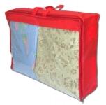 купить Сумка для одеяла M (красный) цена, отзывы