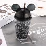 купить Бутылка Микки Маус (черный) цена, отзывы