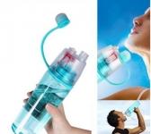 купить Спортивная бутылка для воды с распылителем Nice B 500мл голубая цена, отзывы