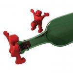 купить Пробка для бутылки Человечек красный цена, отзывы