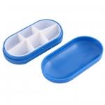купить Контейнер для таблеток на 6 отделений синий цена, отзывы