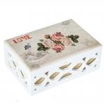 купить Деревянная шкатулка Rose aroma цена, отзывы