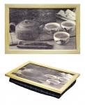 купить Поднос с подушкой Чайная Церемония цена, отзывы