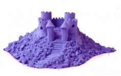 купить Кинетический песок фиолетовый 1кг цена, отзывы