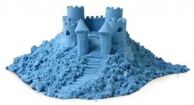 купить Кинетический песок голубой 1кг цена, отзывы