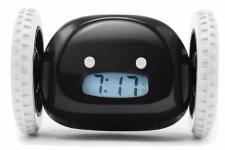 купить Убегающий будильник на колесиках Black  цена, отзывы