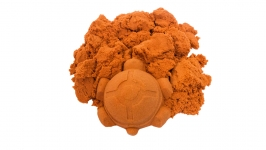 купить Кинетический песок оранжевый 1кг цена, отзывы