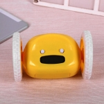 купить Убегающий будильник на колесиках Yellow цена, отзывы