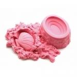 купить Кинетический песок розовый 1кг цена, отзывы