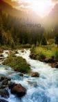 купить Обогреватель картина Горная река цена, отзывы