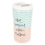 купить Керамическая кружка Кофейная жизнь цена, отзывы