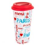 купить Керамическая чашка Романтический город цена, отзывы