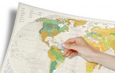 купить Скретч карта Geography World цена, отзывы