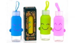 купить Бутылка с ушками SMILE 4 вида цена, отзывы