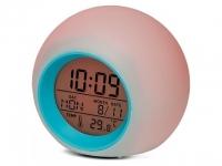 купить Часы будильник светодиодный хамелеон цена, отзывы