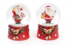 купить Водяной шар пузатый Дед Мороз 6,5 см цена, отзывы
