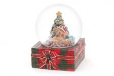 купить Водяной шар Подарок от мишки 8,5 см цена, отзывы
