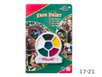 купить Аквагрим 6 красок на планшете цена, отзывы