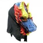купить Карнавальная маска Дракон цена, отзывы