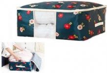 купить Органайзер для одеял Синие Цветы цена, отзывы