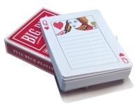 купить Блокнот Колода карт цена, отзывы