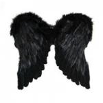 купить Крылья Амура большие 55х55 (черные) цена, отзывы