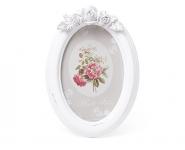 купить Фоторамка овальная White flowers цена, отзывы