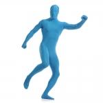 купить Карнавальный костюм Вторая кожа (голубой) цена, отзывы