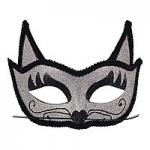 купить Венецианская маска Кошка (серебро) цена, отзывы
