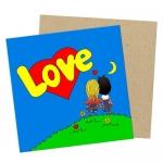 купить Мини открытка Love is цена, отзывы