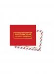 купить Мини открытка Happy New Year цена, отзывы