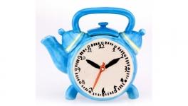 купить Керамический чайник Часы цена, отзывы