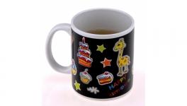 купить Чашка с терморисунком С Днем Рождения 7 видов цена, отзывы