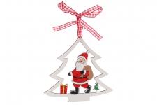 купить Новогоднее украшение Санта с Подарками цена, отзывы