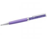 купить Ручка шариковая Amethyst с кристаллами фиолетовая цена, отзывы