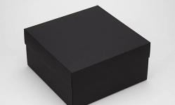 купить Подарочная коробка Grand черная 20х20х10 см цена, отзывы