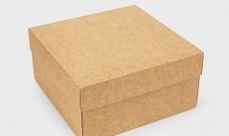 купить Подарочная коробка Крафт 20х20х10 см цена, отзывы