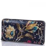 купить Женский Кожаный кошелек Десисан Цветы цена, отзывы