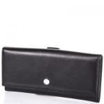 купить Женский Кожаный кошелек Кария Black Style цена, отзывы