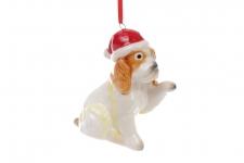 купить Декоративная подвеска Собака 8,5 см цена, отзывы